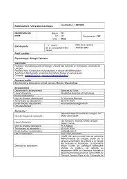 PR 471 64/65 Composant - Université de Limoges