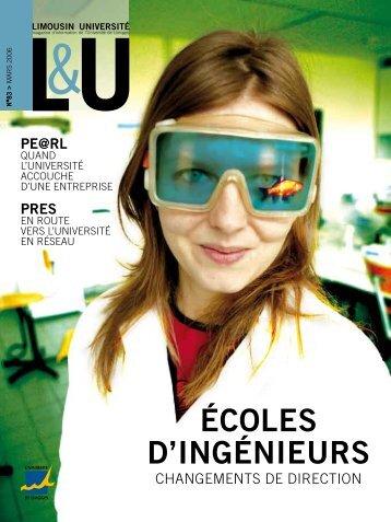 LU n°83 - Université de Limoges