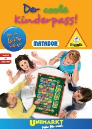 Kinderpass! - Unimarkt
