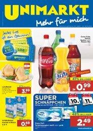 50% BILLIGer - Unimarkt