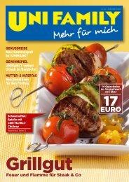 Feuer und Flamme für steak & Co - Unimarkt