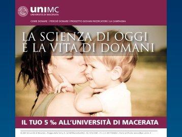 Come donare - Università degli Studi di Macerata