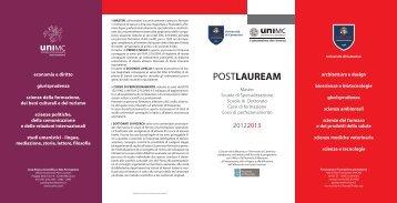 depliant - Università degli Studi di Macerata