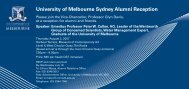 University of Melbourne Sydney Alumni Reception