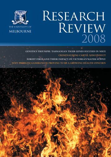 Research Review - University of Melbourne