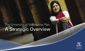 A Strategic Overview - University of Melbourne