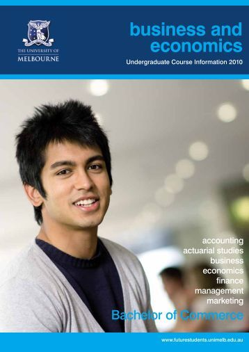 business and economics - University of Melbourne