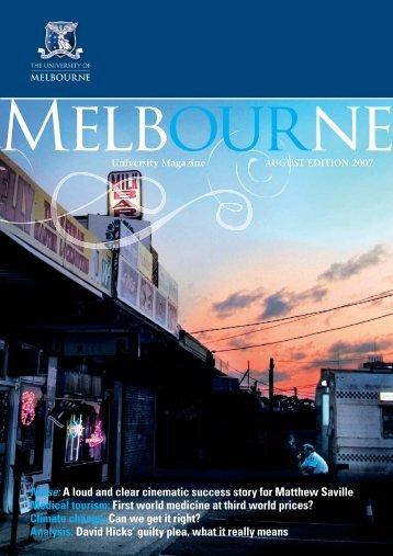 07037 MelbUni MUM AUG07 ART.indd - University of Melbourne