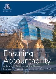 Ensuring Accountability - University of Melbourne