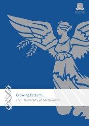 Growing Esteem 2005 - University of Melbourne