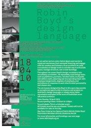 Robin Boyd's design language 18 04 10 _