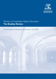 Review of Australian Higher Education The Bradley Review