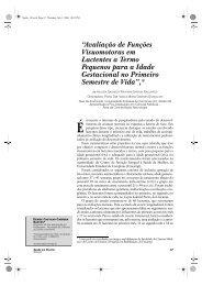 """""""Avaliação de Funções Visuomotoras em Lactentes a ... - Unimep"""