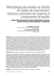 Metodologia para Análise da Gestão da Cadeia de ... - Unimep