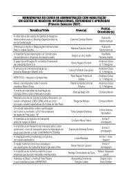 MONOGRAFIAS DO CURSO DE ADMINISTRAÇÃO COM ... - Unimep