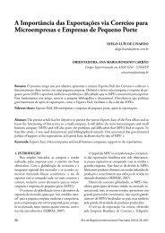A Importância das Exportações via Correios para ... - Unimep