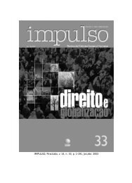 IMPULSO, Piracicaba, v. 14, n. 33, p. 1 - Unimep