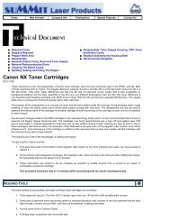 Canon NX Toner Cartridges - Uninet Imaging