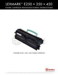 Lexmark E450 TONER Reman Eng - Uninet Imaging