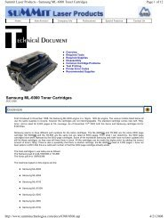 Samsung ML-6000 Toner Cartridges - Uninet Imaging