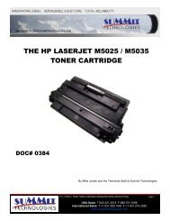 the hp laserjet m5025 / m5035 toner cartridge - Uninet Imaging