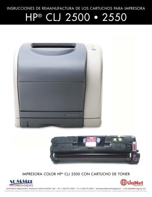 HP® CLJ 2500 • 2550 - Uninet Imaging