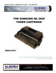 THE SAMSUNG ML-3650 TONER CARTRIDGE - Uninet Imaging
