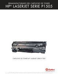 HP® LASERJET SERIE P1505 - Uninet Imaging