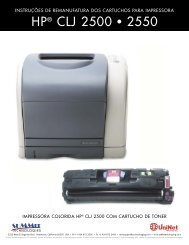 HP® CLJ 2500 • 2550 - Uninet Imaging
