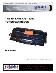 THE HP LASERJET 5200 TONER CARTRIDGE - Uninet Imaging
