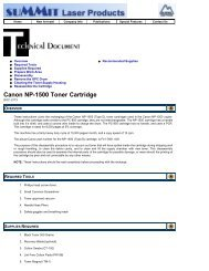 Canon NP-1500 Toner Cartridge - Uninet Imaging