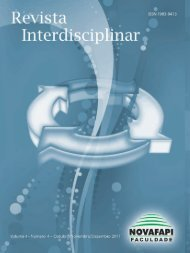Revista Interdisciplinar NOVAFAPI, Teresina. v.4, n.4, p.X-Y, Out ...