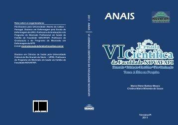 Capas Anais 2011 - Novafapi