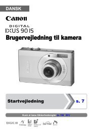 Brugervejledning til kamera - Canon Europe