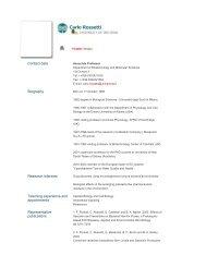 Carlo Rossetti - The University of Insubria