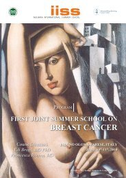 BREAST CANCER - The University of Insubria