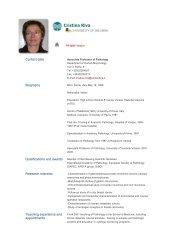 Cristina Riva - The University of Insubria