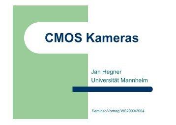 CMOS Kameras