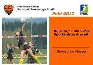 Feld 2012 - Sportunion Arnreit