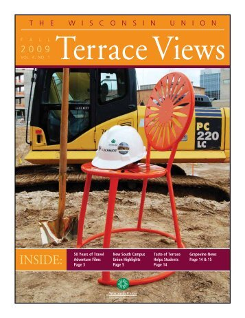 Terrace Views pdf - Wisconsin Union - University of Wisconsin ...