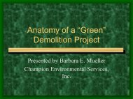 """Anatomy of a """"Green"""" Demolition Project - Wisconsin Union"""