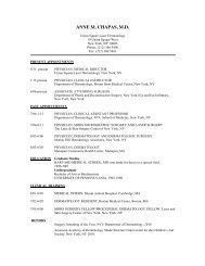 Download Dr. Chapas' curriculum vitae (PDF). - Union Square Laser ...