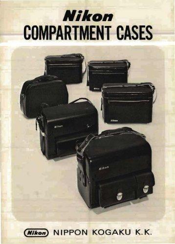 Nikon compartment cases