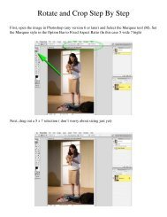 Rotate and Crop Step By Step
