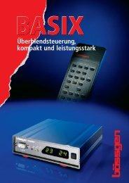 Prospekt BASIX - BÄSSGEN AV-Technik GmbH
