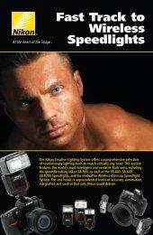 Fast Track to Wireless Speedlights Brochure