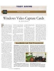 14-page article Windows Video Capture Cards - Desktop Video Group
