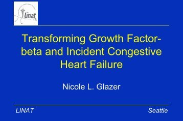 Transforming Growth Factor-beta and Incident Congestive Heart ...
