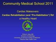 Cardiac Makeovers: Rehab and Prehab for a Healthy Heart