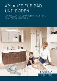 abLäuFe Für bad und boden - Unionhaustechnik